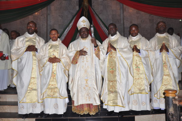 Five Priests Ordained for Diocese